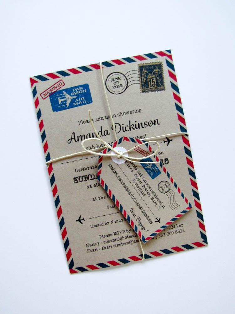 travel themed invitations michelle einstein